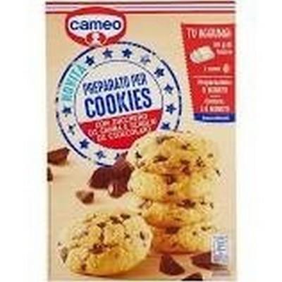 Cameo preparato per cookies