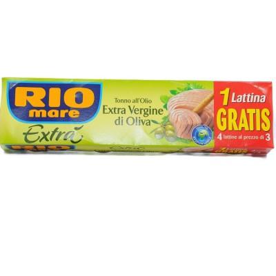 Rio Mare Tonno Olio Extra Vergine 80X4