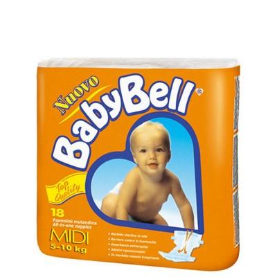 BabyBell Pannolini Midi 5/10 Kg