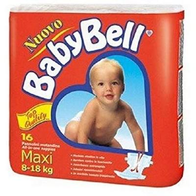 BabyBell Pannolini Maxi 8/18 Kg