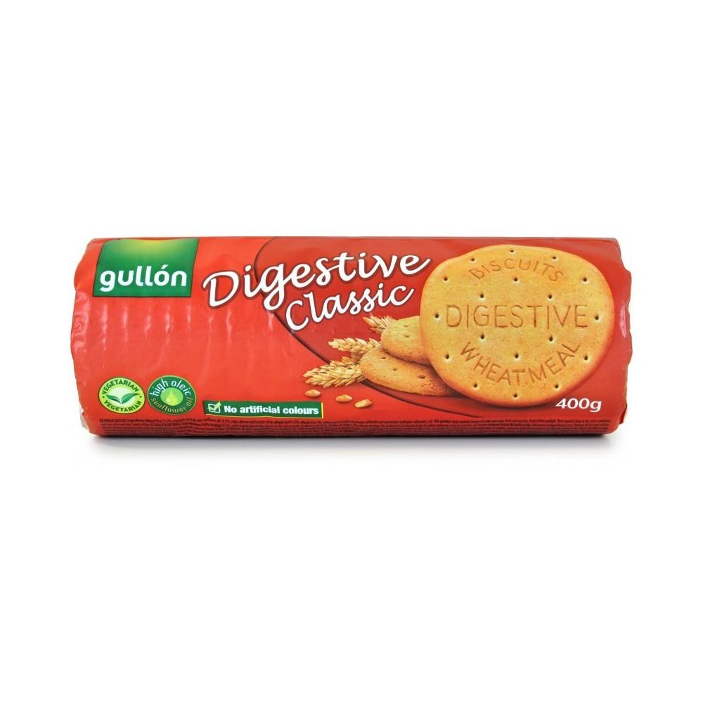 Gullon digestive classic tubo 400 gr