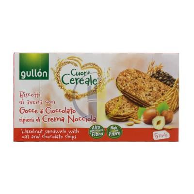 Gullon sandwich nocciola 5 pz 220gr
