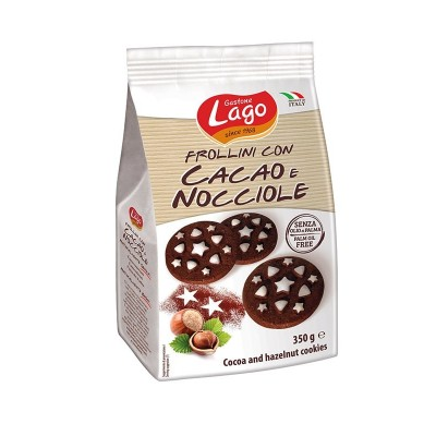Elledi frollini cacao nocciole 350gr