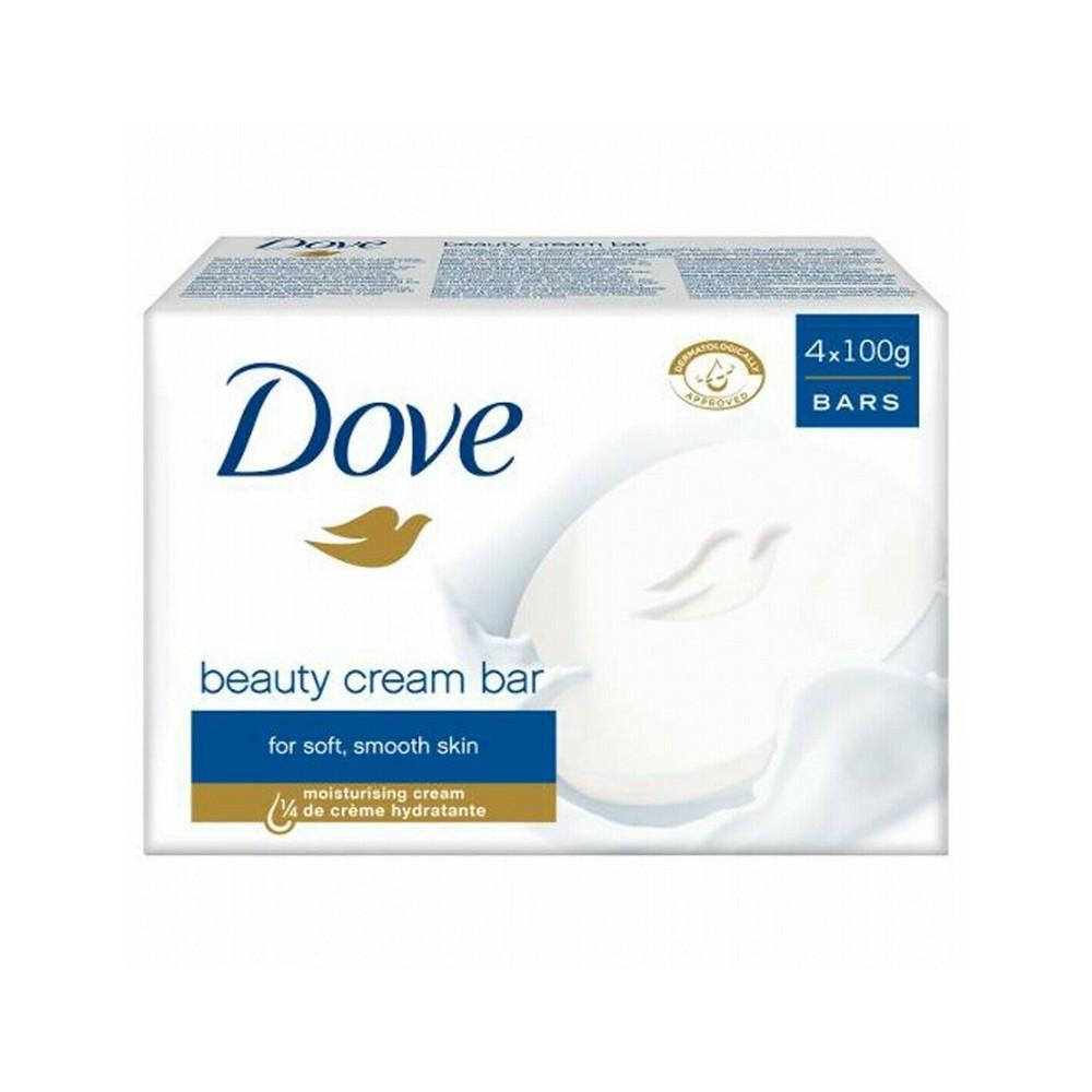 Dove Beauty Cream Bar 4 x 100gr