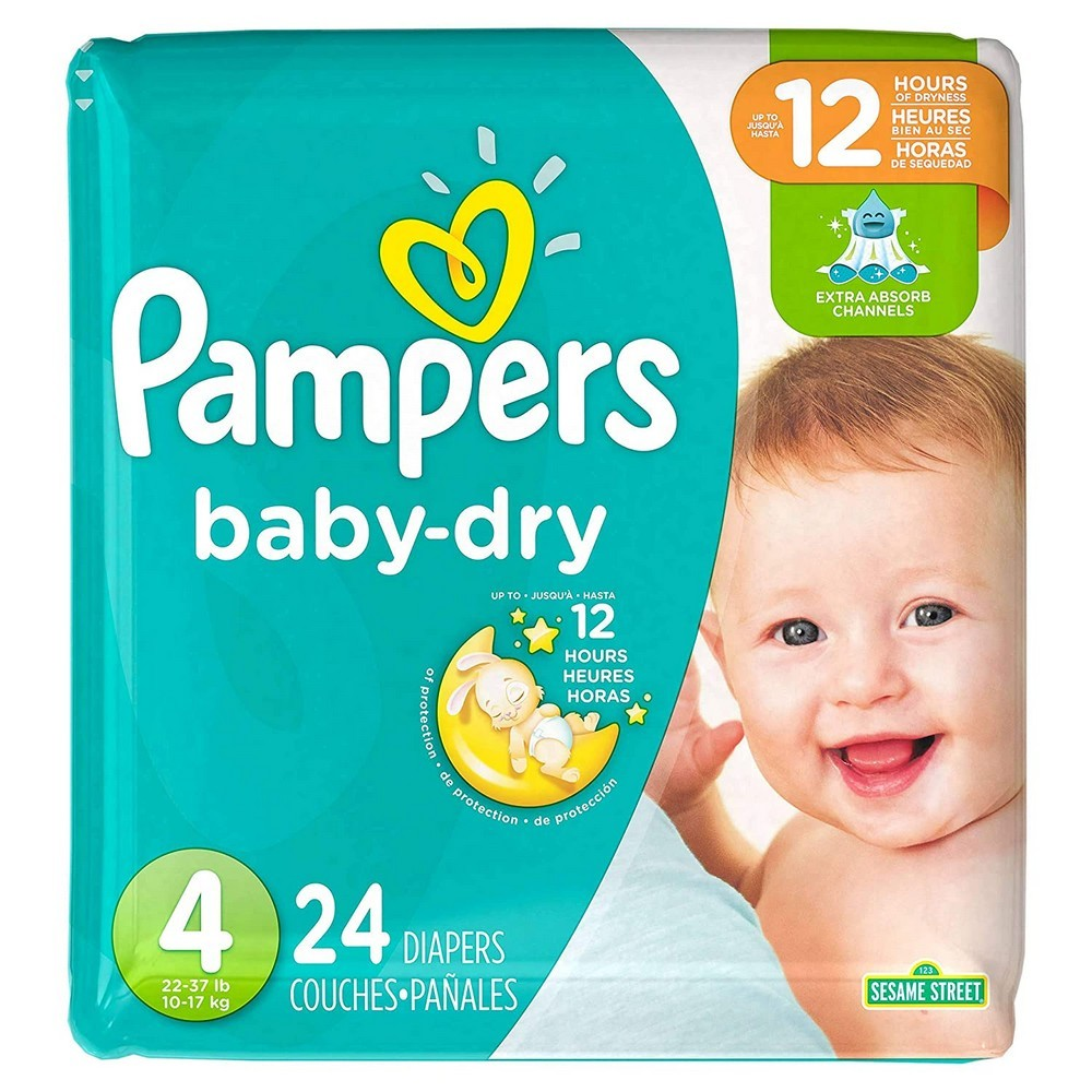 Pampers Baby-Dry Misura 4